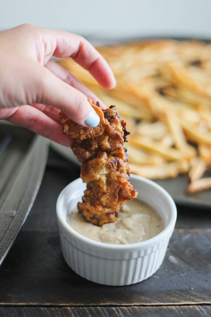 gravy steak fingers with jalapeno cream gravy chicken fried steak ...