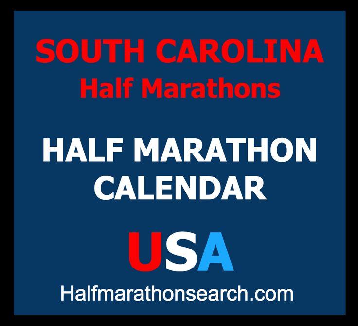 South Carolina Half Marathons http://www.halfmarathonsearch.com/half-marathons-south-carolina  Half Marathon Calendar USA - running, half marathon, events, jogging