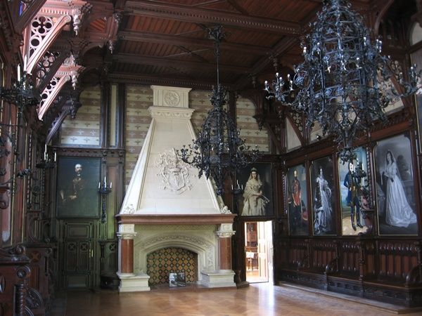 Nádasdladány, Nádasdy kastély,Ősök galériája