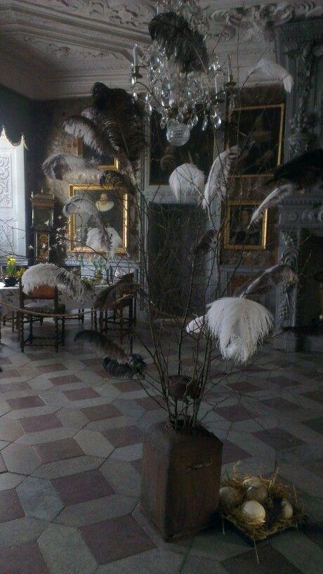 Inside the castle near Uppsala
