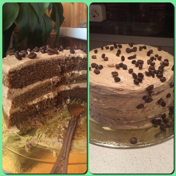 Кофейный торт - простая американская история - Andy Chef - блог о еде и путешествиях, пошаговые рецепты, интернет-магазин для кондитеров