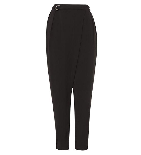 Black Crossover Trousers - £35.00 : Inayah, Islamic Clothing & Fashion, Abayas, Jilbabs, Hijabs, Jalabiyas & Hijab Pins