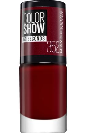Nagellack Colorshow Downtown Red 352