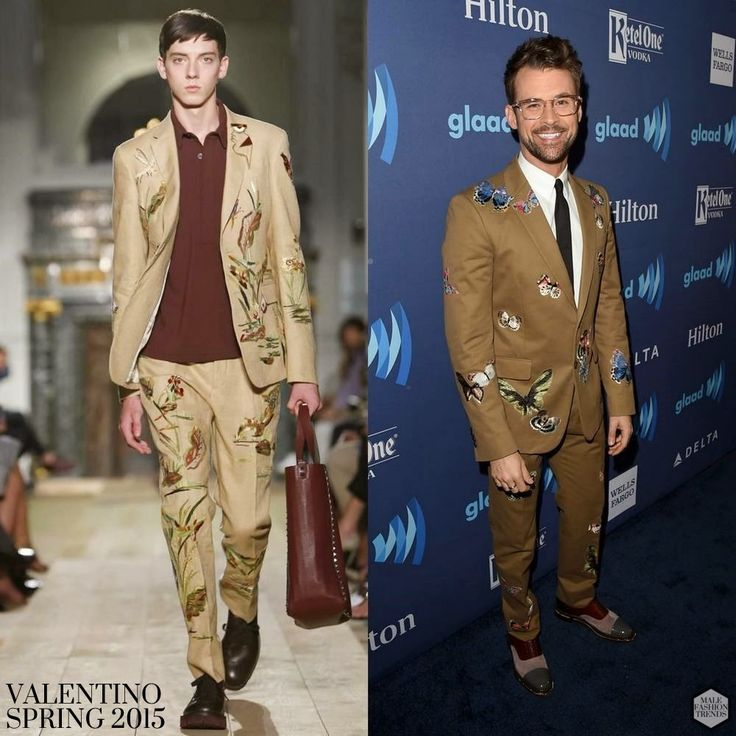 Brad Goreski en Valentino - GLAAD Awards 2015 - Male Fashion Trends