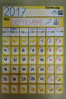 SUSANA Maestra de A.L.: Calendario con tapones