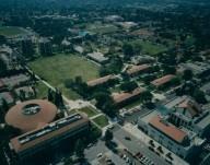 Aerial view claremont Mckenna College then
