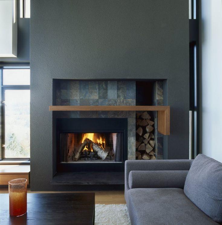Fireplace Design slate fireplace : 22 best Beautiful Slate images on Pinterest