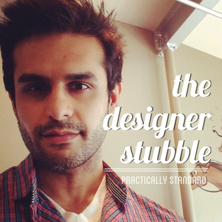 Men's Grooming: the art of designer stubble categories: Men's Fashion, Style, The Married Guy