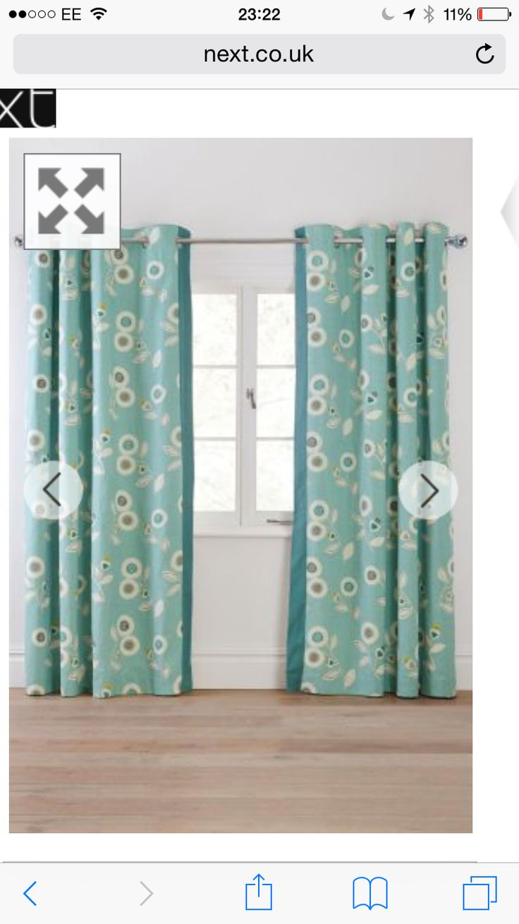 Windsor teal eyelet curtains harry corry limited - Curtain Options