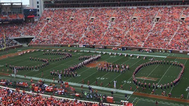 Clemson bands trolls Ohio State, forms '31-0' #FansnStars