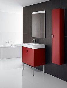 red bathroom furniture uk. roca\u0027s senso square bathroom furniture range - uk home ideas red uk m