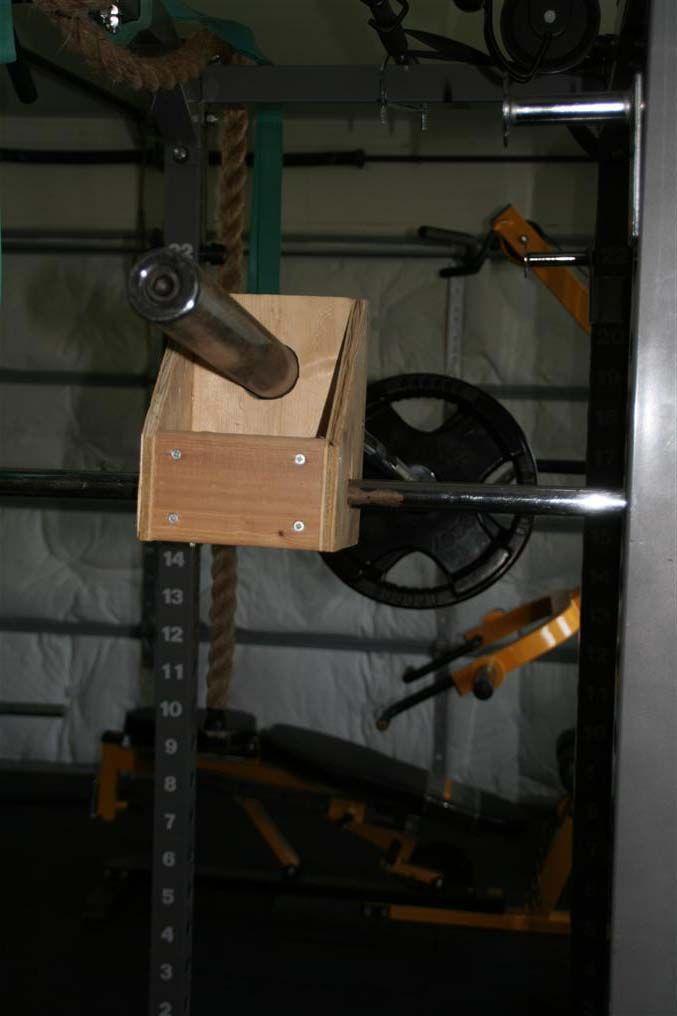 Homemade shoulder press machine gym equipment