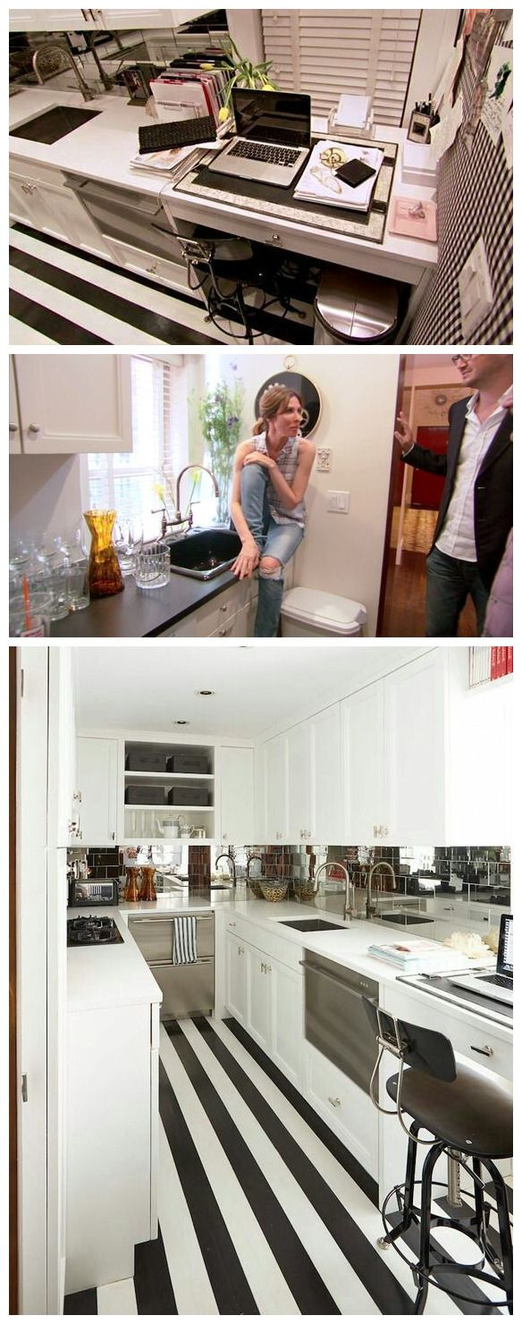 Kitchen of Carole Radziwill from Real Housewives of New York.