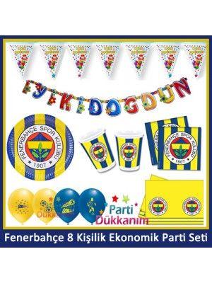 Fenerbahçe 8 Kişilik Ekonomik Parti Seti