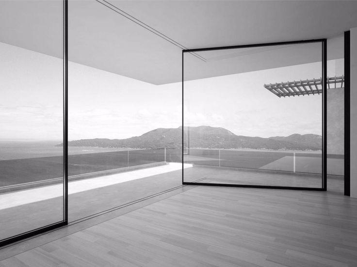 Aluminium patio door VITROCSA TH  Turnable corner by Vitrocsa