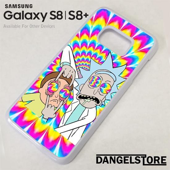 Rick And Morty tye Dye YZ For Samsung S8 | S8 Plus Case
