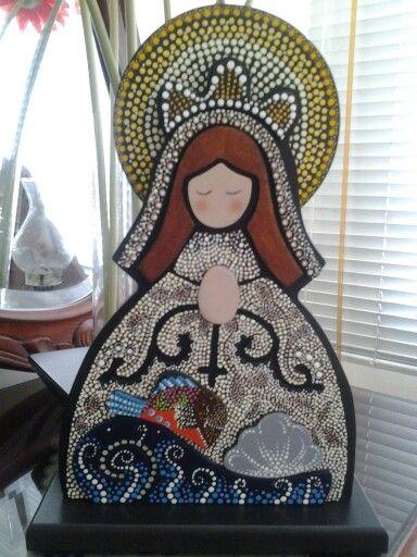 Virgen del Valle, puntillismo