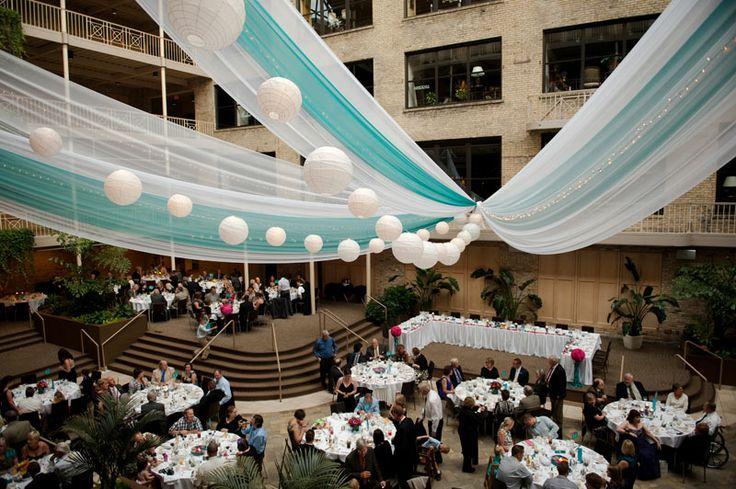 Avant decor ceiling draping international market square for Four decor international srl