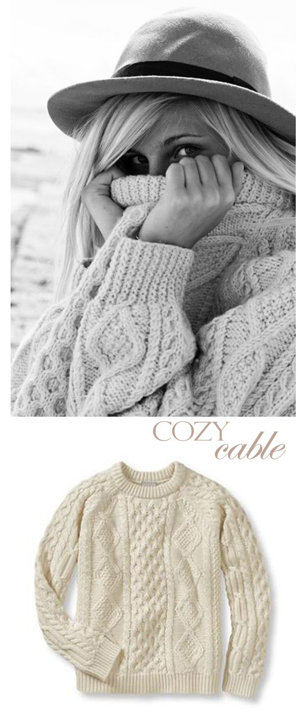 sweaters-I have always wanted one of these, I call it a fisherman's sweater, it is what they wear on the east coast