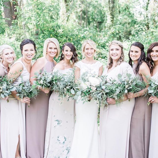 Neutral Mix We Love Dune Show Me The Ring Bouquet Toss