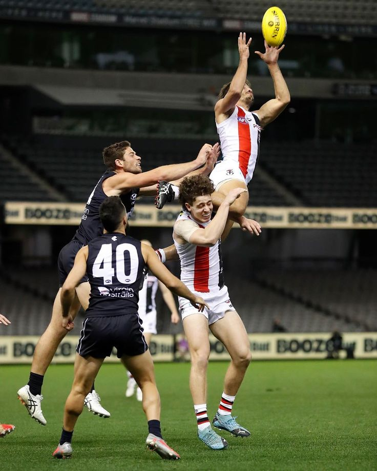 """St Kilda Football Club on Instagram """"What a mark from Ben"""