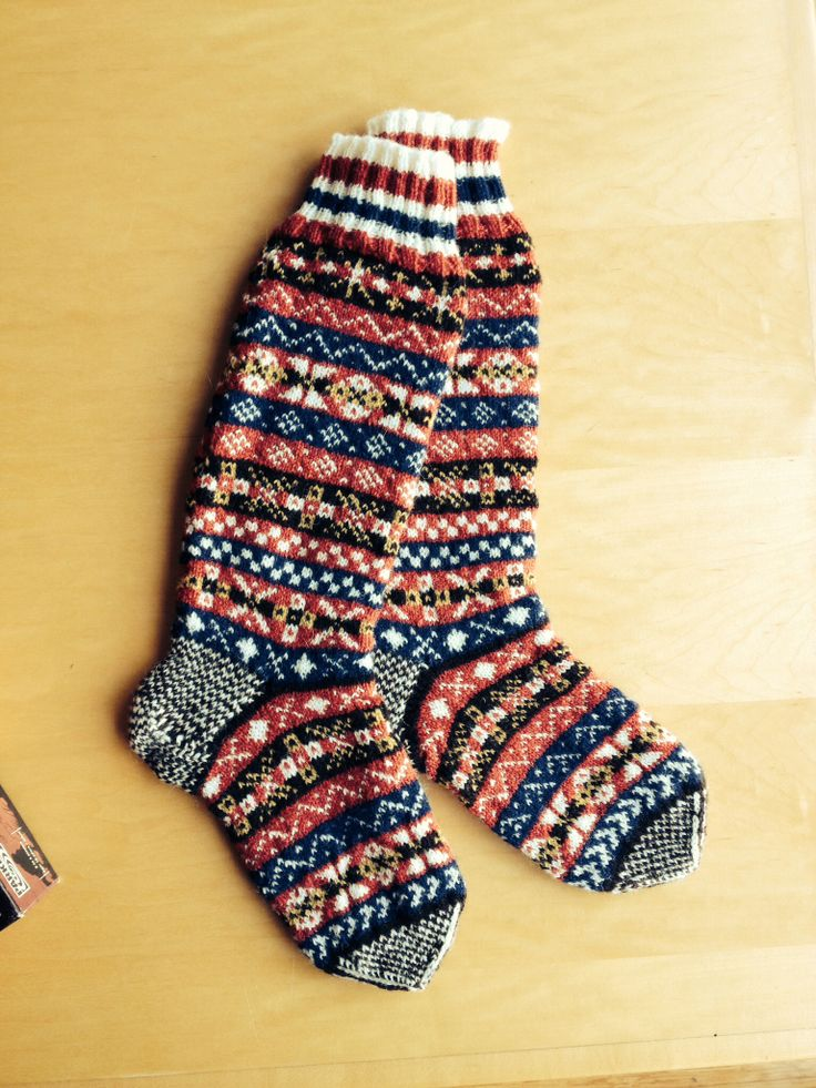 oxo fairisle pattern from country weekend socks by. Black Bedroom Furniture Sets. Home Design Ideas