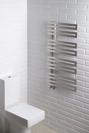Radiateur sèche-serviettes VISTA avec tubes plats rectangulaires en vente sur Techno-Conseil Bain-Douche, découvrez tous nos Séche Serviette Standard de qualité à petits prix