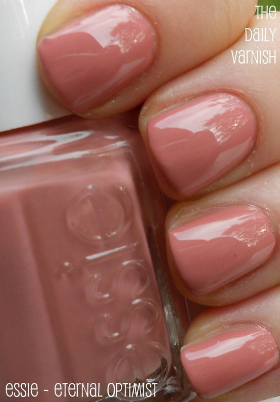 Essie - Eternal Optimist I have this color too! :) It looks cute on my toess.