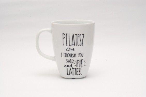 PILATES?OH. I THOUGH YOU SAID PIE AND LATTES - Jędrki -
