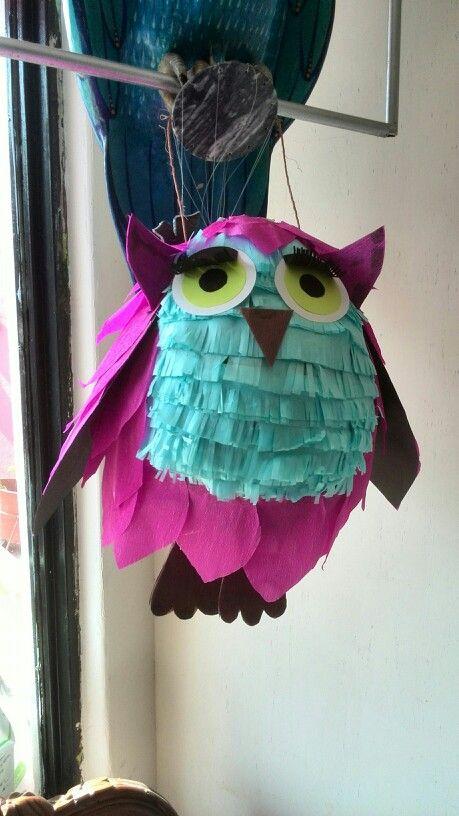 Piñata buho fácil y rápida...