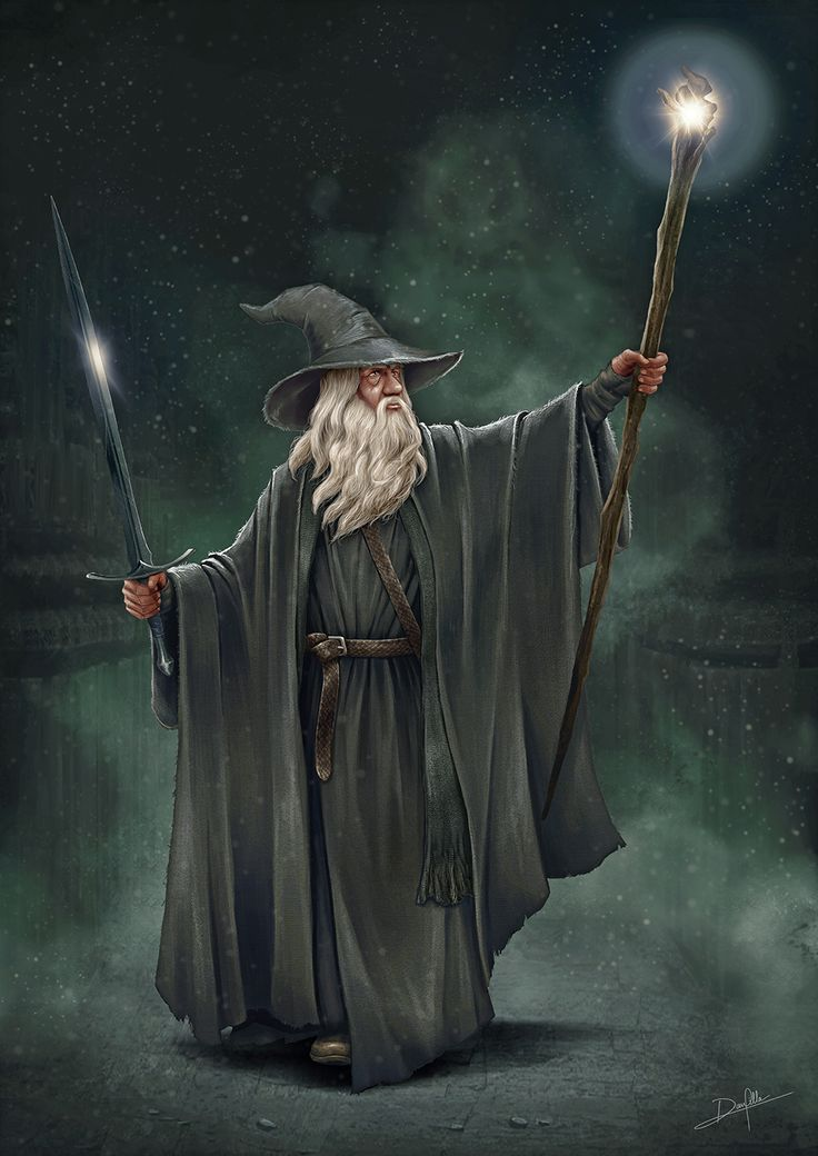 Gandalf by DanPilla on DeviantArt