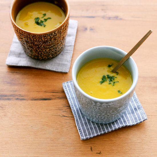 【料理家さんの定番レシピ】意外とカンタンにできる、かぼちゃのポタージュ。