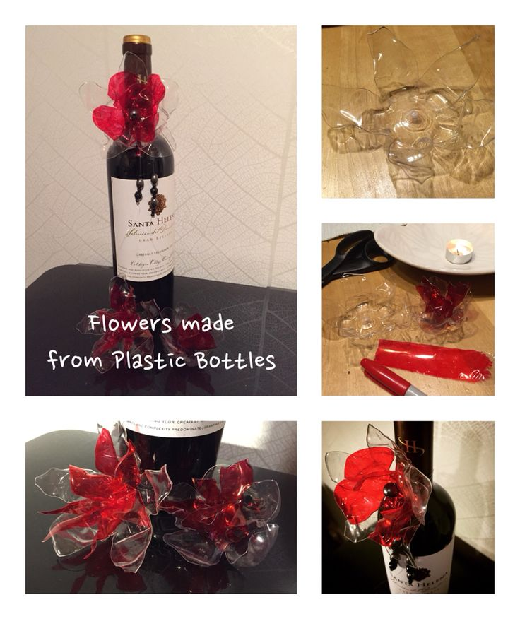 DIY flowers made from plastic bottles #diy #flowers #plastic #plasticbottle #recycle