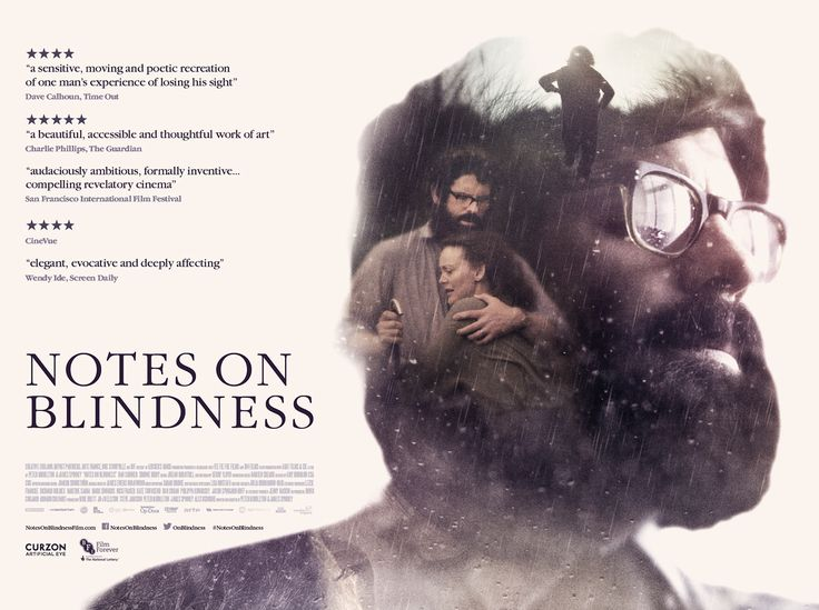 Notes on Blindness Film Poster on Behance