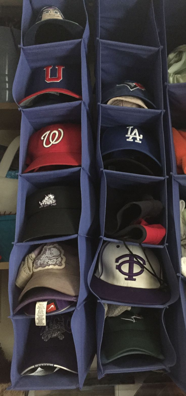 one of the simple solutions for hat storage