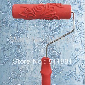 7'' 180mm NCCTEC Liquid wallpaper flower mould liquid wallpaper rubber roller…