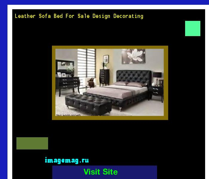 Leather Sofa Bed For Sale Design Decorating 171638 - The Best Image Search