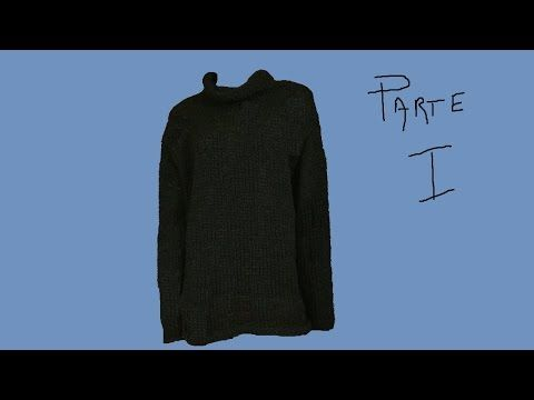 Maglia donna ai ferri Tunica free size - camiseta a dos agujas - Knitwear knitting pullover - YouTube