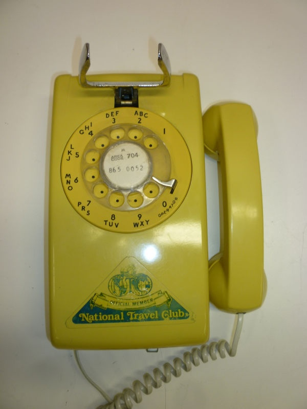 Remember when they had special stickers  for home phones? If so, you're old.