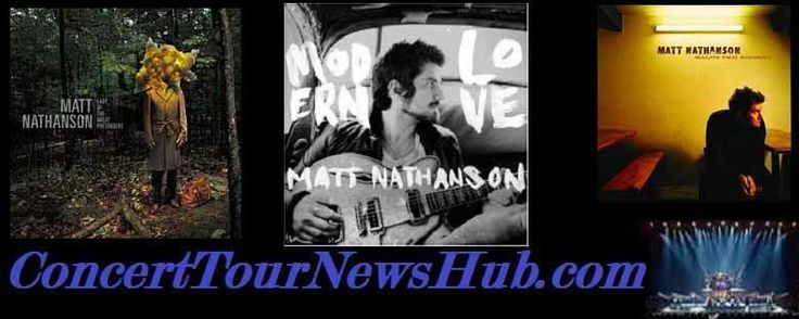 "Updated Matt Nathanson 2015 North American Tour Schedule - Joins The Train 2015 ""Picasso at the Wheel"" Tour With The Fray Updated @mattnathanson @train @TheFray #MusicNews #TourSchedule"