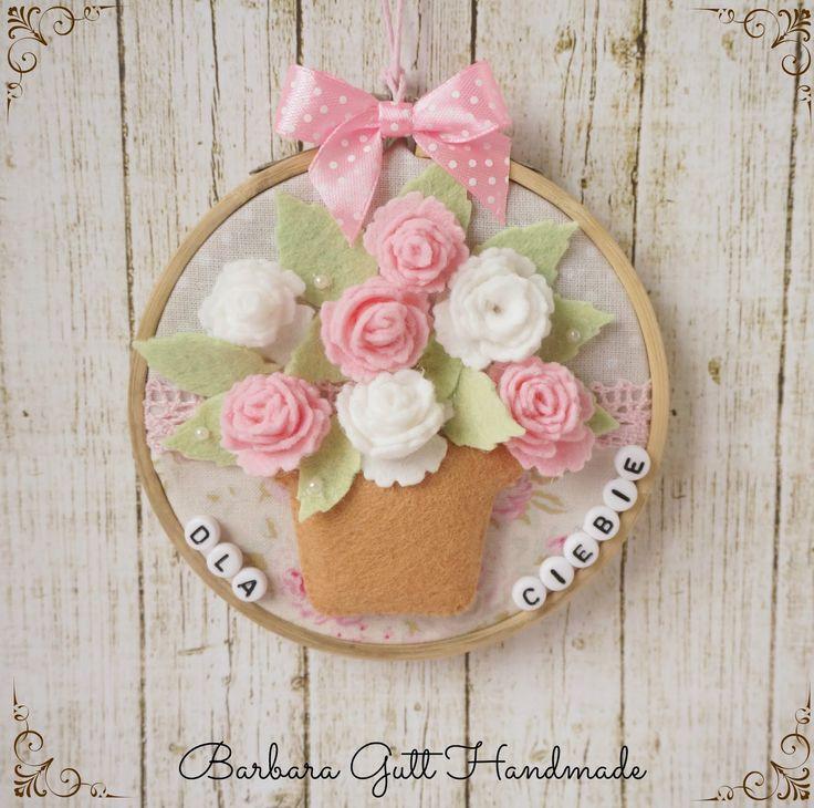 Barbara Handmade...: Kwiaty dla Ciebie / Flowers for you