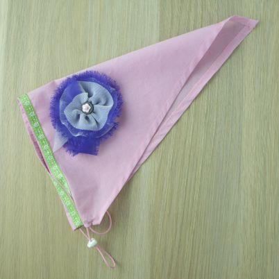Create a Cute Kerchief for Girls