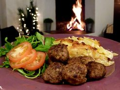 Köttbullar i ugn, Ernsts recept (kock Ernst Kirchsteiger)
