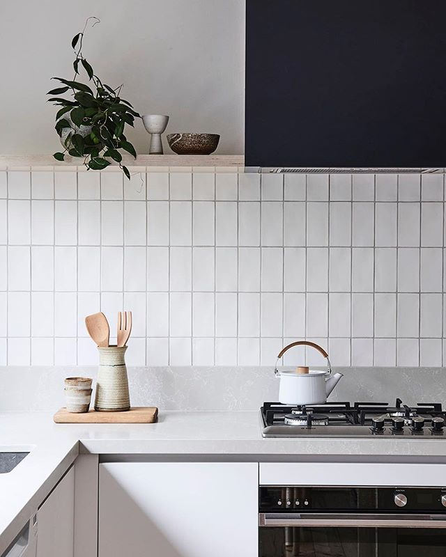 also love this splash back look