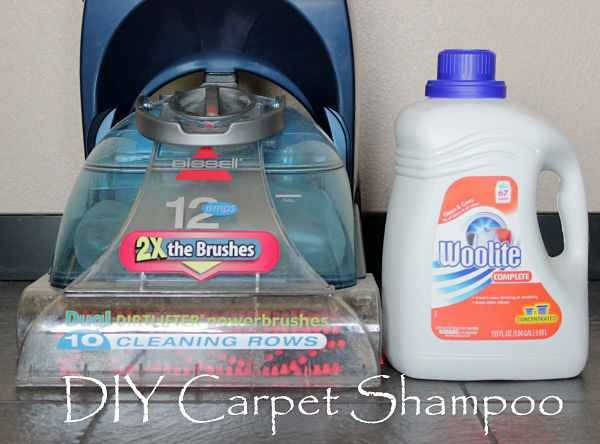 DIY Carpet Shampoo  Just add water!  Doing this with Gain! I love how the scent lasts and it smells amazing!