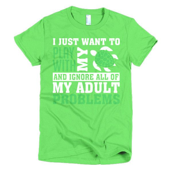 Womens Adult Problems Tee Shirt