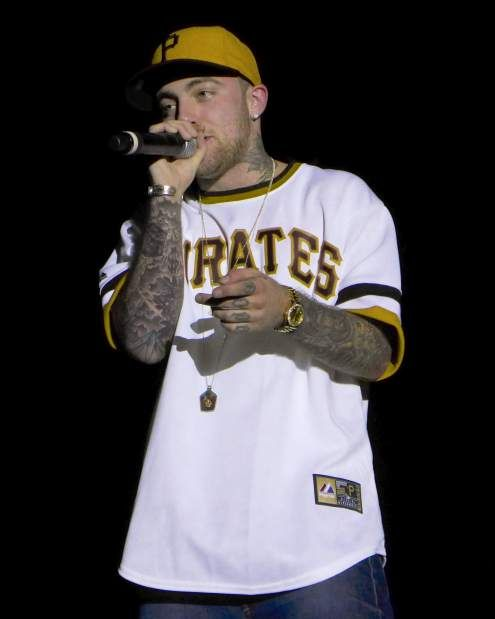 Mac Miller performs on July 12, 2013, at Stage AE in Pittsburgh.  (Jack Fordyce  |  Trib Total Media)