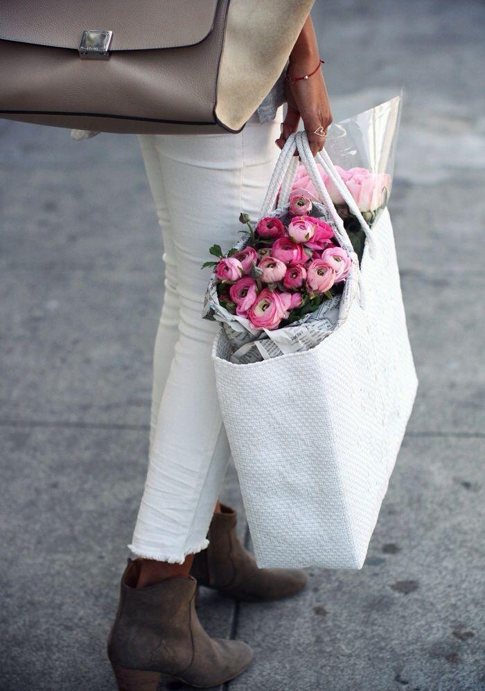 Bag a beautiful bouquet//