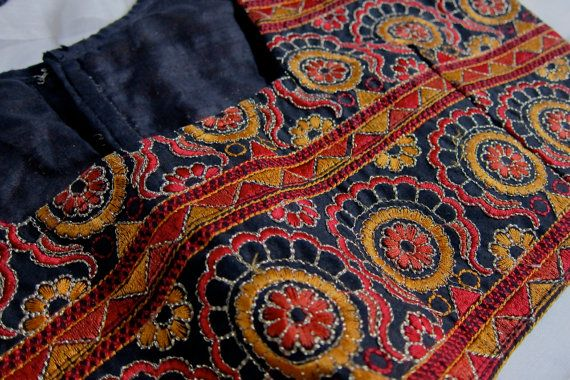 Blouse with Kutch embroidery