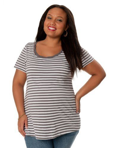 Motherhood Maternity: Plus Size Short Sleeve Scoop Neck Maternity T Shirt Motherhood Maternity. $14.99